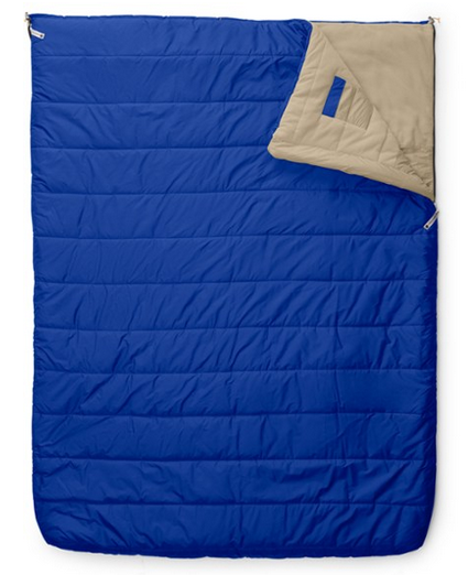 The North Face Eco Trail Bed Double - Best Synthetic Sleeping Bags: Perfect for couple