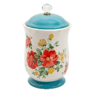 The Pioneer Woman Vintage Floral - Best Canister Sets for Kitchen: Easily Matches with Other Items in The Pioneer Woman Collection