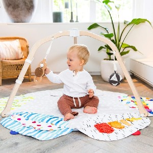 Lovevery The Play Gym for Baby to Toddler  - Best Playmat for Crawling Baby: Prevents overstimulation