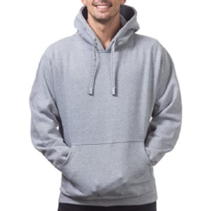The Pro Club Men's Heavyweight Pullover Hoodie - Best Heavyweight Hoodie: 13oz Hoodie