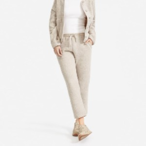 Everlane The ReNew Fleece Sweatpant - Best Cheap Sweatpants Women: Made From Recycled Plastic Bottles