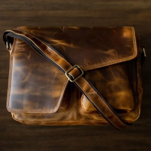 The Real Leather Company The Buffalo - Best Leather Satchel: Stunning Satchel