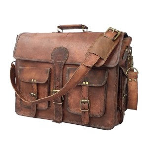 The Real Leather Company The Jones - Best Leather Satchel: Briefcase Satchel