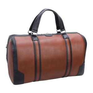 The Real Leather The Two Tone - Best Leather Duffel Bags: Distinct Two Colors Leather Duffel