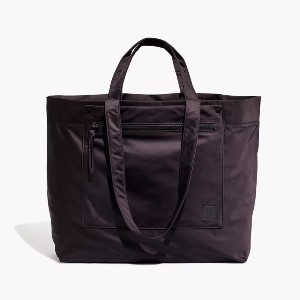 Madewell The (Re)sourced Tote Bag - Best Tote Bags for Travel: Luggage Pass-Through Sleeve