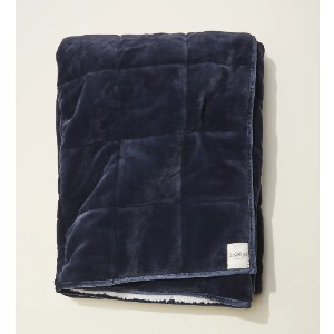 UpWest The Sherpa Weighted Blanket - Best Weighted Blanket for Anxiety: Ultra-Soft Handfeel