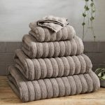10 Recommendations: Best Bath Towel (Oct  2020): Ribbed cotton towel