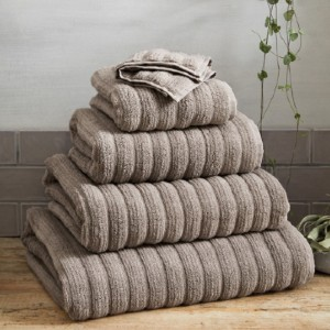 The White Company Hydrocotton Towels - Best Bath Towel: Ribbed cotton towel