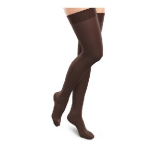 Therafirm Ease Opaque - Best Thigh High Compression Socks: Super Soft, Breathable Opaque Material