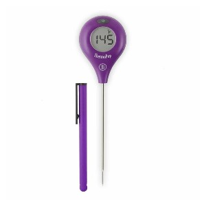 ThermoWorks ThermoPop - Best Food Thermometer for Baking: Carry in your pocket