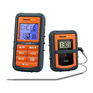ThermoPro TP07S  - Best Food Thermometer for Baking: Pierce the thickest meat