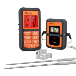 ThermoPro TP08S  - Best BBQ Food Thermometer: Lifetime guarantee