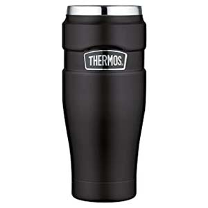 Thermos Stainless King 16 Ounce Travel Tumbler - Best Tumbler for Cold Drinks: Works well for hot or cold drinks