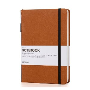 Lemome Thick Classic Notebook - Best Notebook for Meeting Notes: Excellent pen loop