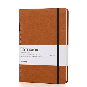 Lemome Thick Classic Notebook - Best Notebook for Travel Journal: Long-lasting, sturdy option