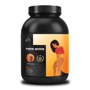 Gene.In.Us Brain. ThickQuick Shake Chocolate - Best Mass Gainer for Women: Key Ingredients for Maximum Muscle Growth