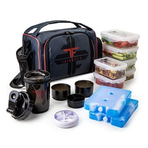 ThinkFit Insulated Meal Prep Lunch Box - Best Lunch Cooler for Construction Workers: A complete package