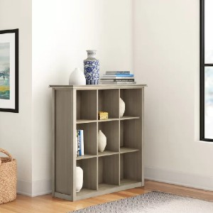 Three Posts™ Gosport Solid Wood Cube Bookcase - Best Solid Wood Bookcases: Sleek and Contemporary Design