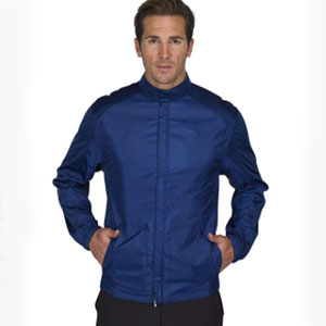 Three Sixty Six Store Full Zip Golf Jacket for Men - Best Raincoats for Golf: Lightweight Raincoat Jacket