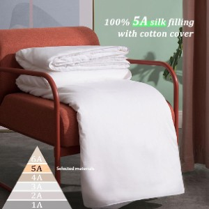 Thxsilk Silk Comforter - Best Blanket for Cold Weather: Asthma and Allergy Relief Blanket