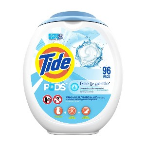 Tide Laundry Detergent Soap PODS - Best Laundry Detergents Stain Remover: Hypoallergenic Detergent