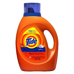Tide Liquid Laundry Detergent - Best Laundry Detergents for Hard Water: 10x Cleaning Power