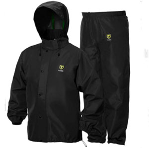 TIDEWE Store Rain Suit Breathable Waterproof - Best Raincoats for Fishing: Adjustable and Detachable Hood