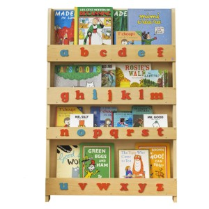 Tidy Books Montessori Bookshelf (Age 0- 10) - Best Bookshelves for Toddlers: Safety Tested Bookcase