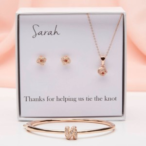 Project Dahlia Tie the Knot Bridesmaid Jewelry Gift Set - Best Jewelry for Bridesmaids: Best complete package