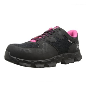 Timberland Women's Powertrain Alloy-Toe EH W Industrial Shoe - Best Safety Shoes for Womens: Shoes with Anti-Fatigue Technology