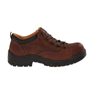 Timberland TiTAN® Oxford Alloy Safety Toe - Best Safety Shoes for Womens: Premium Full-Grain Leather Shoe