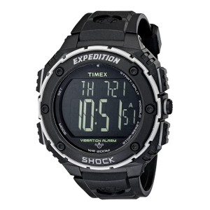 Timex Expedition Shock XL Watch  - Best Durable Watches for Construction Workers: Resistant to shocks and water