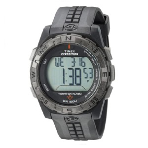 Timex T49851 Expedition  - Best Waterproof Watches: Adjustable Black 22 Millimeter Resin Strap