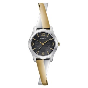 Timex Women's Stretch Bangle Crisscross - Best Formal Watches for Ladies: Unique expansion band