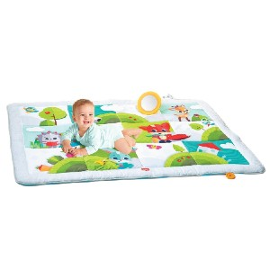 Tiny Love Meadow Days Super Play Mat  - Best Playmat for Crawling Baby: Stimulate your baby's tactile