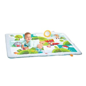 Tiny Love Meadow Days Super Play Mat - Best Playmat for Newborn: Playful colors and textures