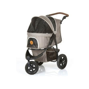 Hauck Togfit 3-Wheeled - Best Dog Strollers for Running: Adjustable Handle and Large Shopping Basket