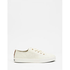Tommy Hilfiger Tommy Basic Sneakers - Best Sneakers Under 150: Embroidered Branding to Side