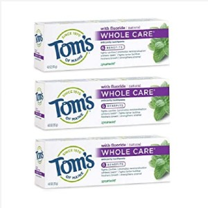 Tom's of Maine Whole Care Natural Toothpaste - Best Toothpaste to Prevent Cavities: For overall oral health