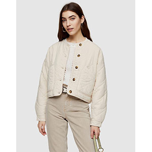 Top Shop Bobby Lightweight Quilted Jacket - Best Jacket for Summer: Lightweight chic jacket