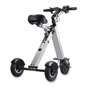 TopMate ES31 Electric Scooter Mini Tricycle - Best Electric Scooter with Seat: Safer with 3 wheels