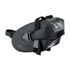 Topeak Wedge Drybag with Strap Mount  - Best Bicycle Saddle Bag for Touring: Best for wet, nasty conditions