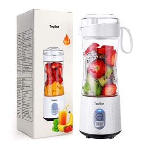 TOPESCT Portable Blender - Best Portable Blender: Fully charged quickly