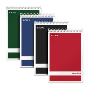 Tops Steno Books - Best Notebooks for College: Perforated Sheets Detach Easily