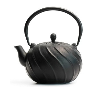 Toptier Japanese Cast Iron Teapot with Infuser - Best Teapot to Keep Tea Hot: Japanese Style Teapot