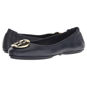 Tory Burch Minnie Travel Ballet Flat - Best Flats for Standing All Day: Flat with Elasticized Back Flat