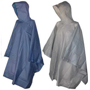 Totes Unisex Hooded Pullover Rain Poncho (2 Packs) - Best Raincoats for Travel: The side snaps rain poncho