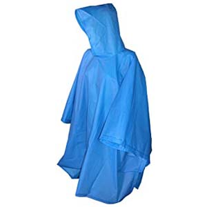 Totes Hooded Pullover Rain Poncho - Best Raincoats for Disney: Covers every stuff you bring