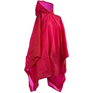 Totes Hooded Rain Poncho - Best Raincoats for Disney: Portable in lovely color