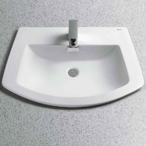 TOTO Soiree® Self-Rimming Lavatory - Best Drop-In Bathroom Sinks: Sink with 1-Year Limited Warranty